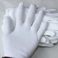 China Comfortable Anti-Slip Etiquette Parade Cotton Gloves