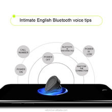 lowest price Bluetooth v4.1 cool single earbud earphone, wireless headset headphone earbud for smartphones