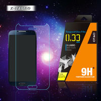 Automatic installation absorb tempered glass screen protector for Samsung galaxy s4 i9500