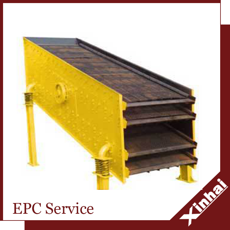 gold vibrating screen for mining sand separation equipment with the CE certification
