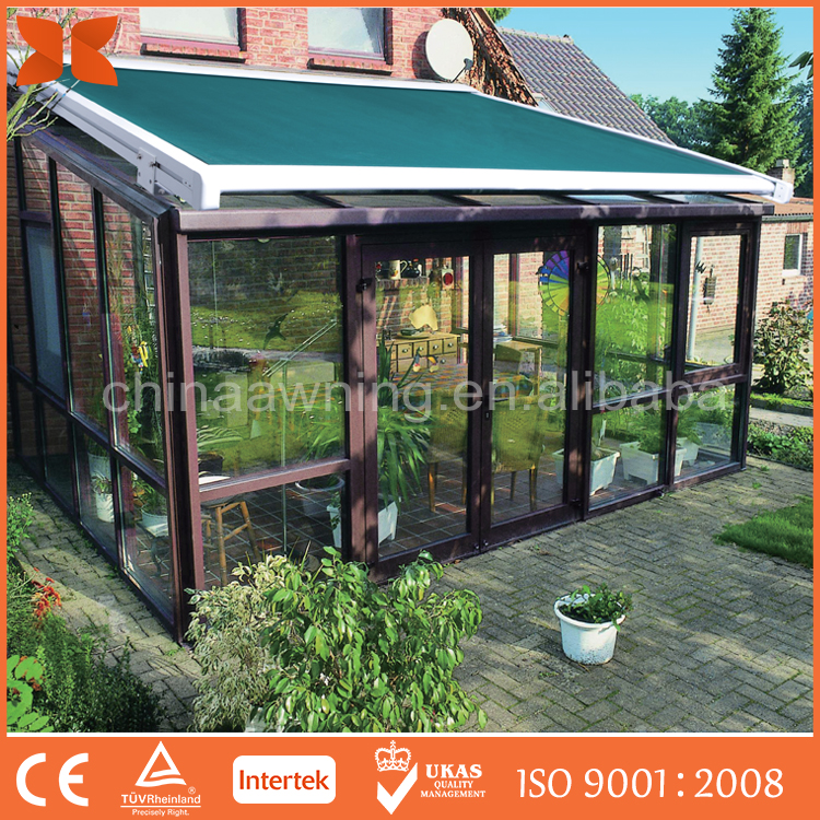 SC-T01 Remote Control retractable roof conservatory awning