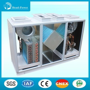 Heat recovery ventilator with heat pump intelligent control high air cleanness