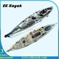 SCG LLDPE plastic professional pedal fishing kayak for wholesale
