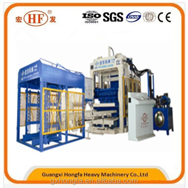 Heavy Equipment HFB5115A Hollow Making Machine, Machine Concrete