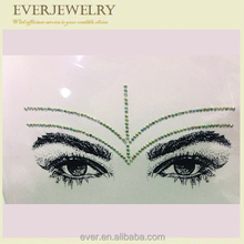 2017 Newest body, eye, face jewels tattoo sticker