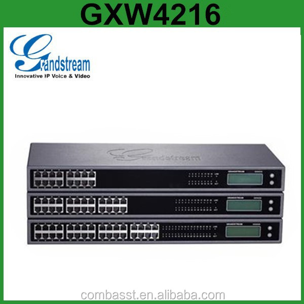 Grandstream GXW4216 24 32 48 FXS Analog VoIP Gateway for PSTN IP PBX