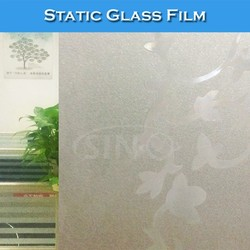 WB36 Colored Window Decoration Stickers Static Adhesive Film Glass