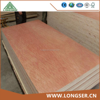 Alibaba China 10mm Bintangor Commercial Plywood