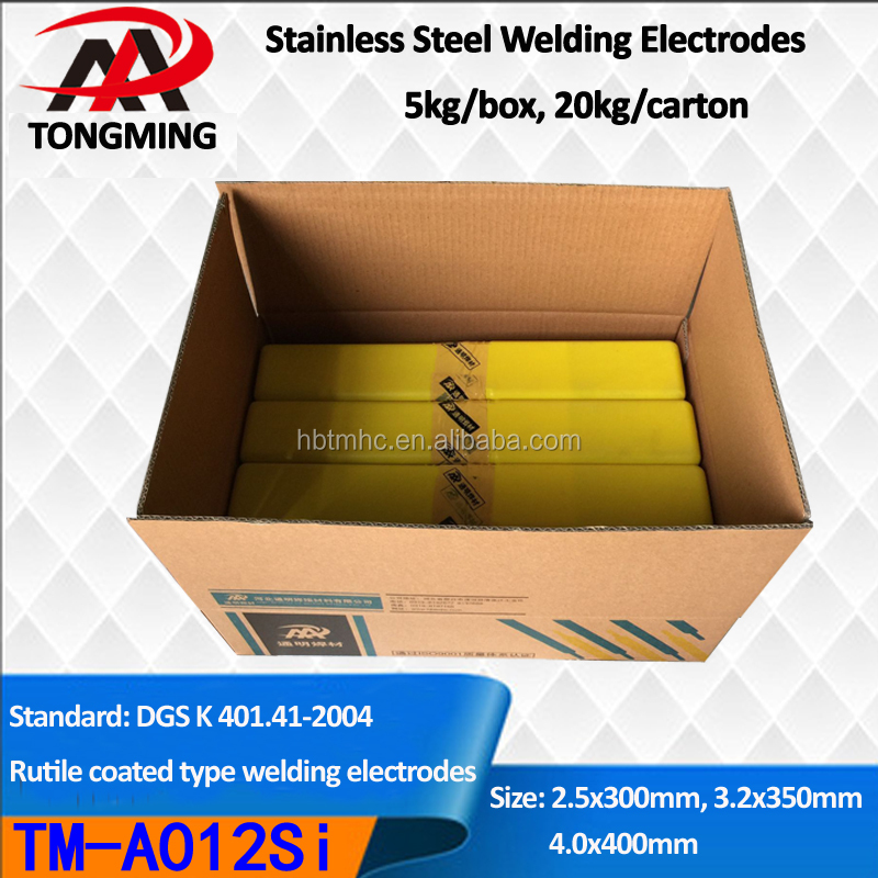A012Si Stainless Steel Welding Electrodes