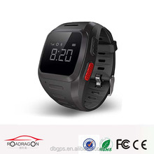 Waterproof IP67 mini 3g gps tracker watch mobile gps bracelet with GPS/GPRS/LBS/WIFI four way location super good gps signal
