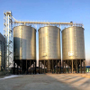 Good Price Cost wheat Corn Maize Stainless Steel Grain Storage Silo, Poultry Chicken Feed Silo, Small Grain Silo For Sale