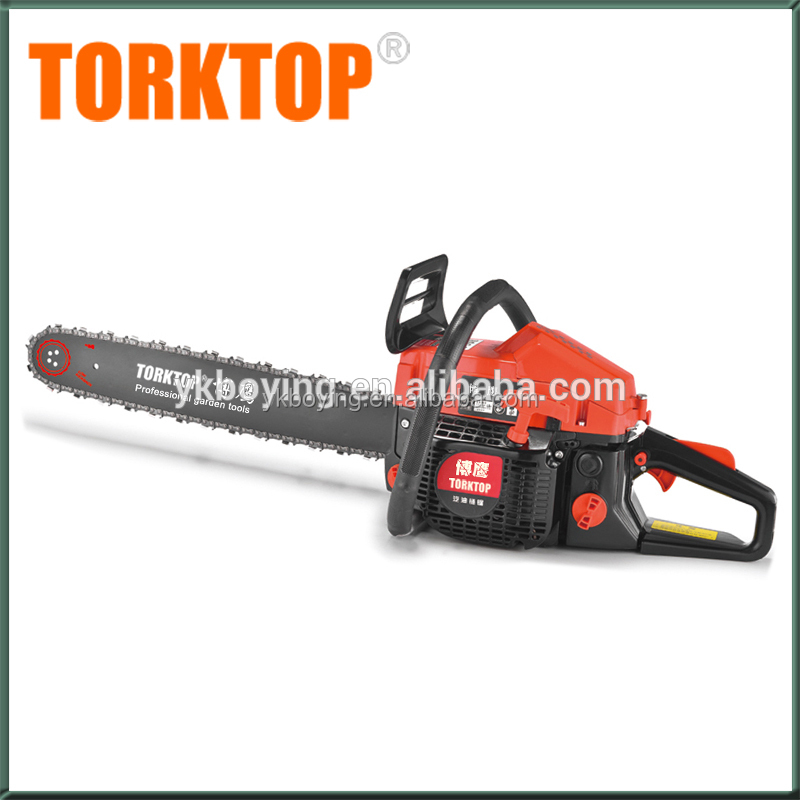 Chinese gasoline cheap manual petrol 5800 58cc chainsaw