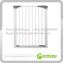 Baby Safety Door Gate/Easy Step Walk Thru Gate easy-close extra tall and wide metal gate