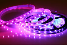 Color Changing Led rope; WS2813 Addressable Color LED Light Strip 60 Pixel 5050 RGB SMD WS2811 IC