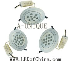 Indoor Cree high power led cob downlight 12W
