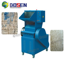 Recycle HDPE LDPE PP ABS PE Plastic Film Grind Crusher Machine