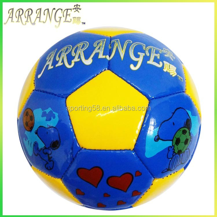 ACFB0118P2105 Blue machinery stitched stocks soccer ball football