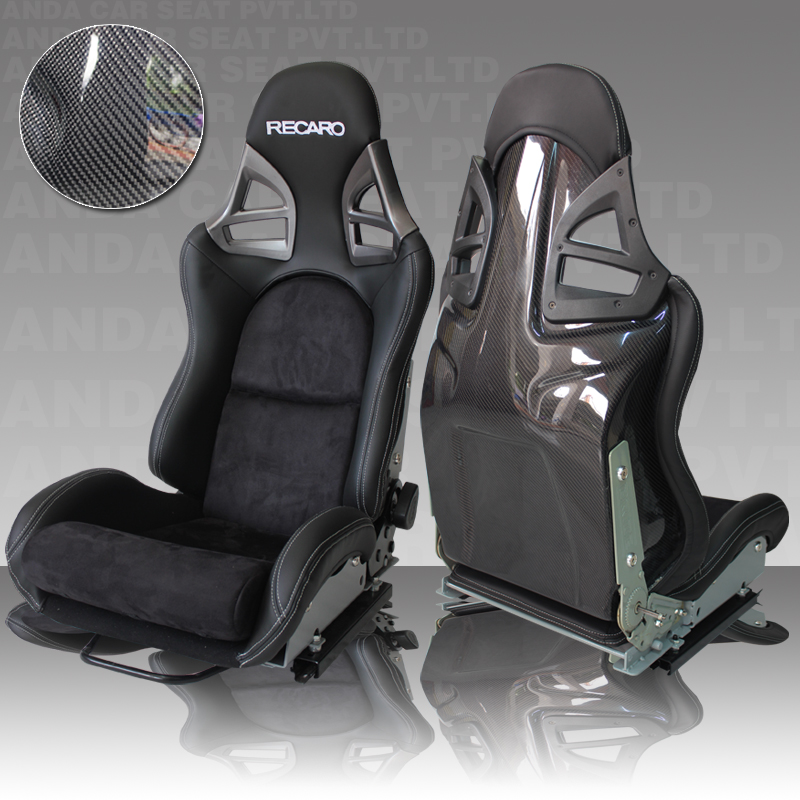 RECARO Seats Fashionable Carbon Fiber Sport Car Seats AD-912