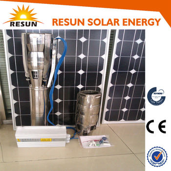 great dc solar submersible pump price for irrigation