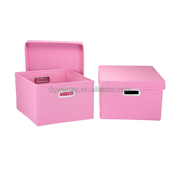 2014 New Arrival Collapsible Office Storage Cube with Handle