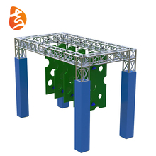 Outdoor Ninja Course Kids Playground Amusement Equipment