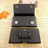 Mobile horizontal flip cover megnetic phone case for iphone 6 5.5 leather cell phone flip horizontal cases card slot wholesale