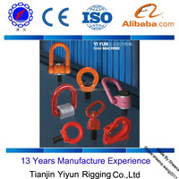 G80 Weld-On Hooks Alloy Chain Shackles and Alloy Lifting Points