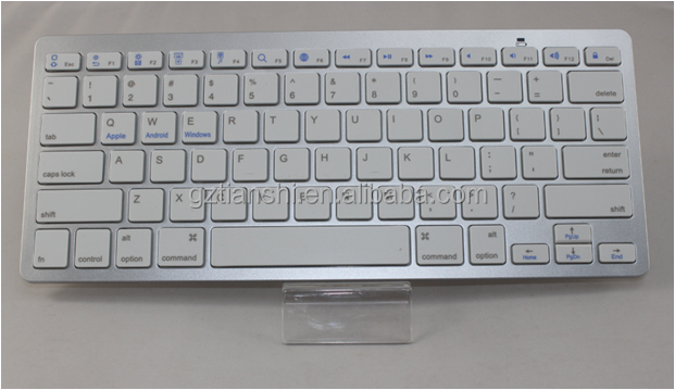 ultra slim bluetooth wireless keyboard for ipad air\iPad laptop