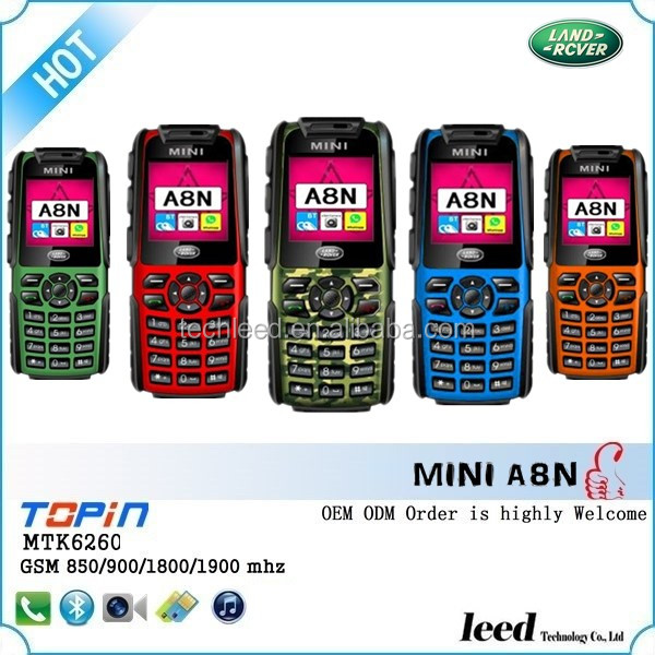 mini A8N hot selling 3proofings phones SC6531chipset popular in Colombia
