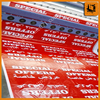 supplier pvc flex banner production line pvc flex banner rol with great price