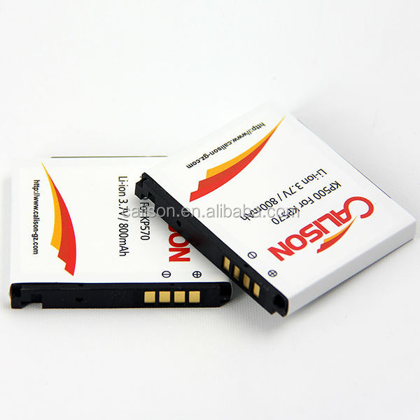 800mAh Mobile Phone Battery KP500 for LG KP500/ KC550/ KX500/KV500/KP501/KP502