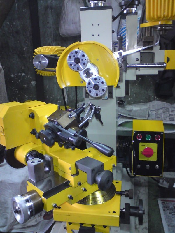 Ball Beeds Diamond Cut Faceting Machine