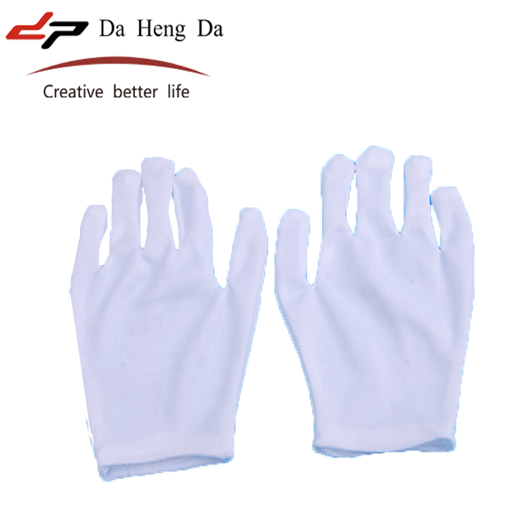 Cheap White thin TC nylon Hand <strong>Gloves</strong> Manufacturer