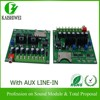Button Trigger Alarm System Board, Alarm System Mp3 Board with AUX