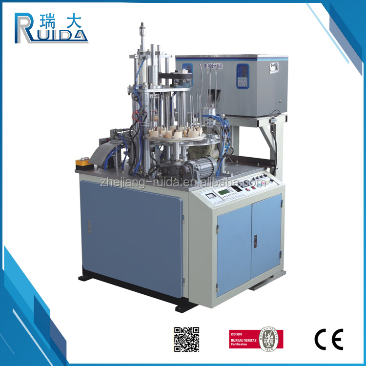 RUIDA High Quality Cheap Price Automatic Tea Paper Cup Filling Machine