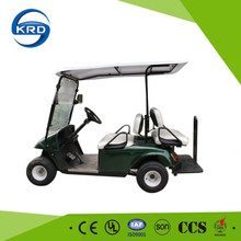 Manufacture 4 seater electric mini folding golf cart with comfortable seats