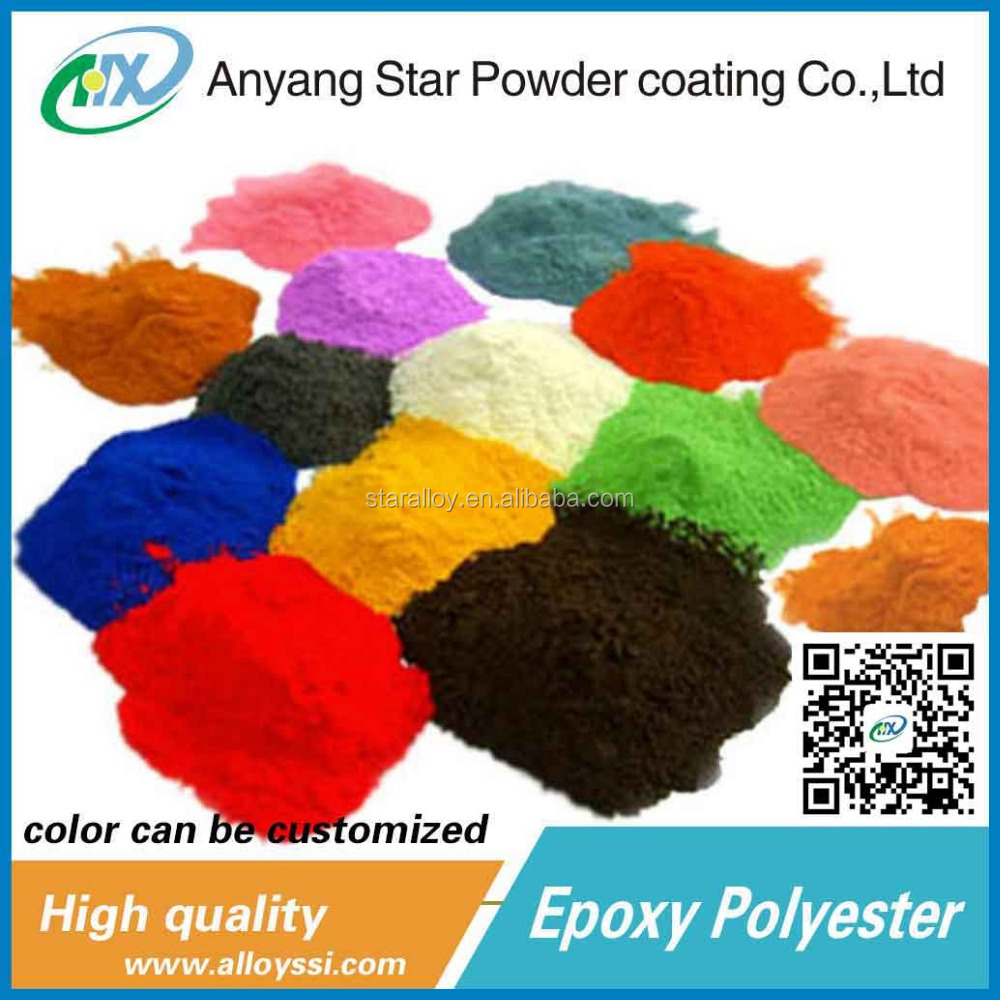 Factory Supplier high temperature resistant scrap powder coating for Metal furniture for wheel hub