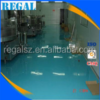 Epoxy flooring resin paint for carbonated drinks