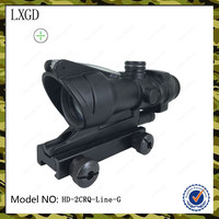 HD-2CRQ-Line-G,Red Dot 20mm/11mm Picatinny Rail Mount Optic green dot sight Hunting scope