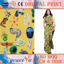 High Quality 100% Cotton Digital Printing Shirting Fabric