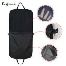 Wholesale Personalised Quilted Zippered Double Use Fabric Cloth Garment Bag