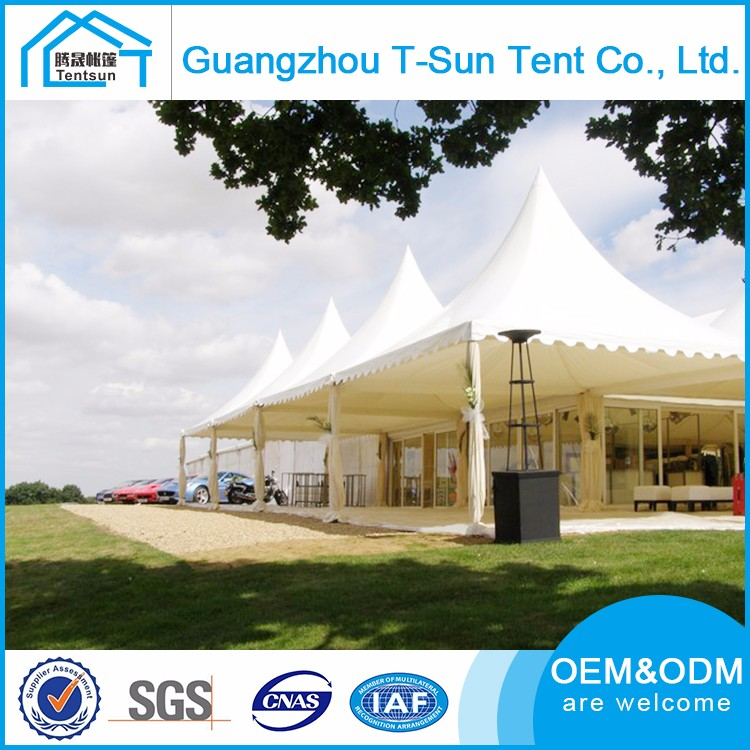 Large adorable construction sunshade party tent for wedding events