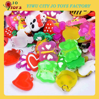 rubber bands silicone charm for bracelet PVC charm stock