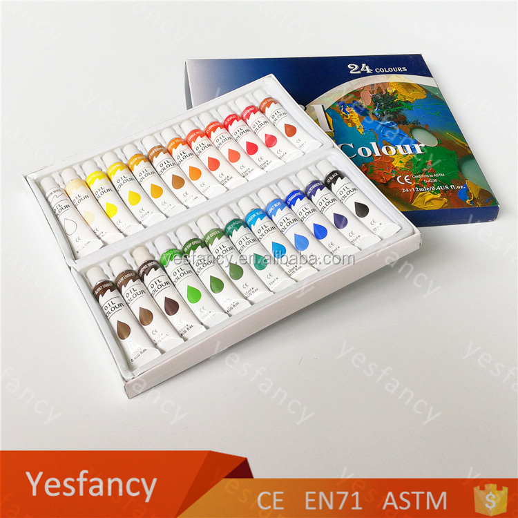 Manufacturer oil paint safety art supplies factory oil paints for artist