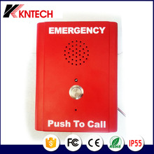 KNTECH KNZD-13 Loudspeaker phone Emergency telephone elevator phone SOS one push button Wall mounting