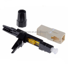 FTTH SC/UPC Multimode 50/125 fiber optic connector,SC Multimode fiber fast connector with factory price