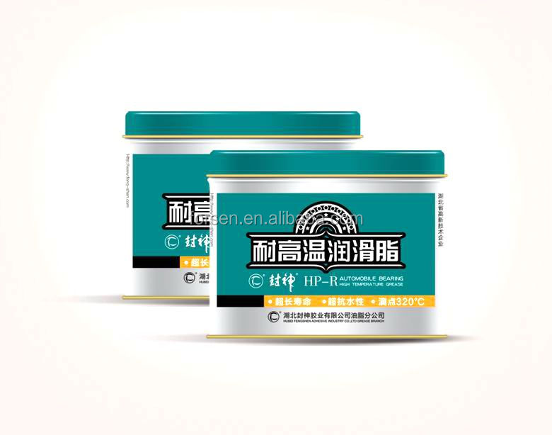 Lubricating Grease with High Temperature lithium grease and oil resist Automobile