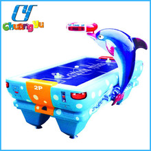 Dolphin folding air hockey table