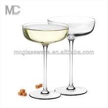 Wholesale Unique Cheap Wedding Coupe Clear Champagne Glass