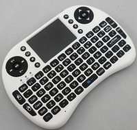 Mini qwerty design I8 fly keyboard 2.4g wireless mini Air mouse mini i8 keyboard
